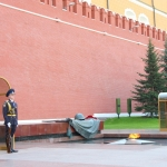 Russia - Moscow - Manege Square - Tomb of the Unknown Soldier
