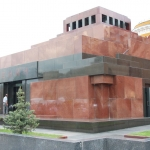 Russia - Moscow - Red Square - Lenin Mausoleum