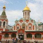 Russia - Moscow - Red Square - Kazan Cathedral