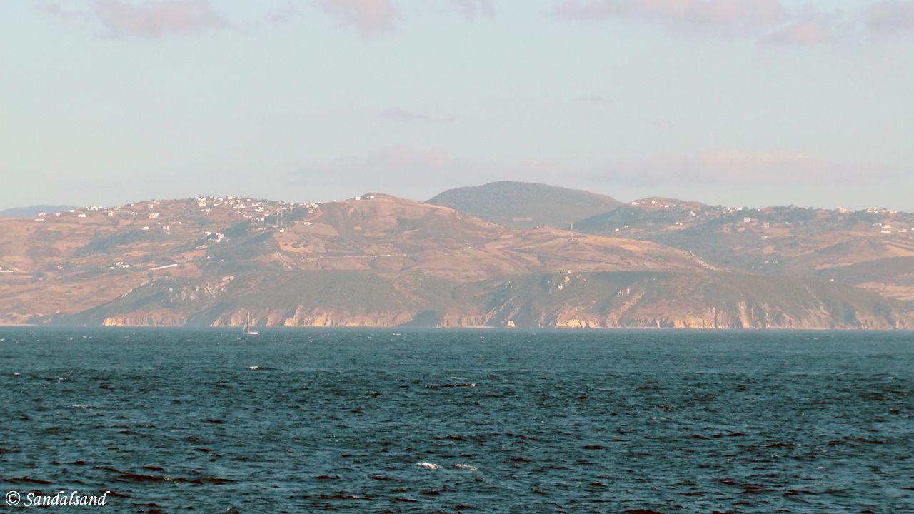 Morocco - Strait of Gibraltar towards Africa
