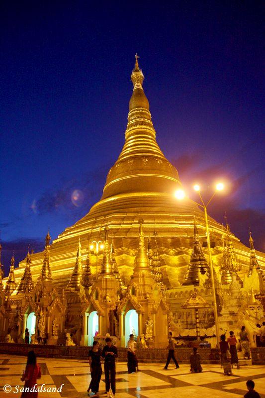 Myanmar - Yangon - Shwedagon Paya