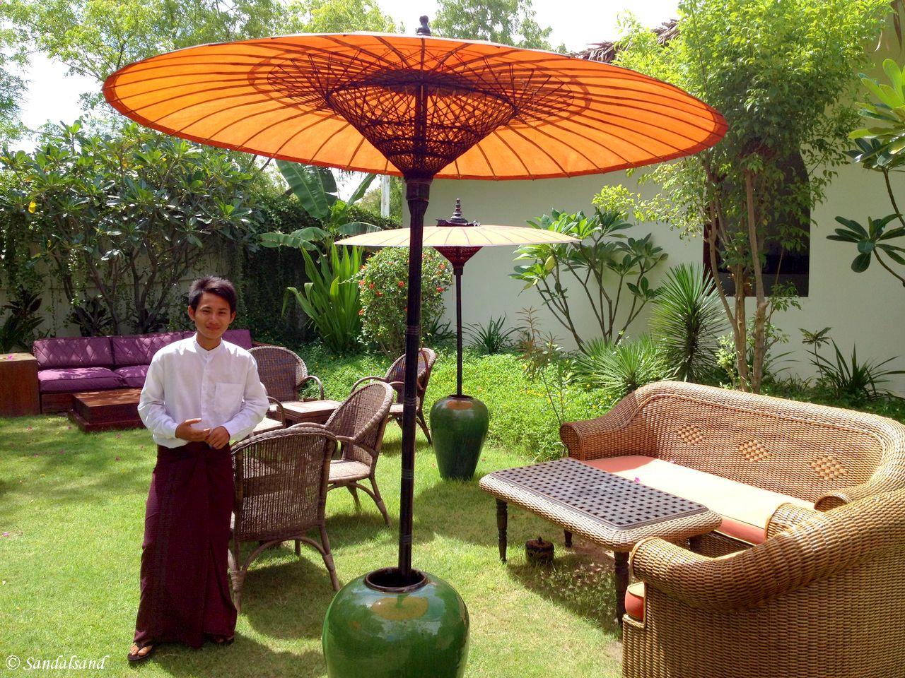 Myanmar - Bagan - Blue Bird Hotel