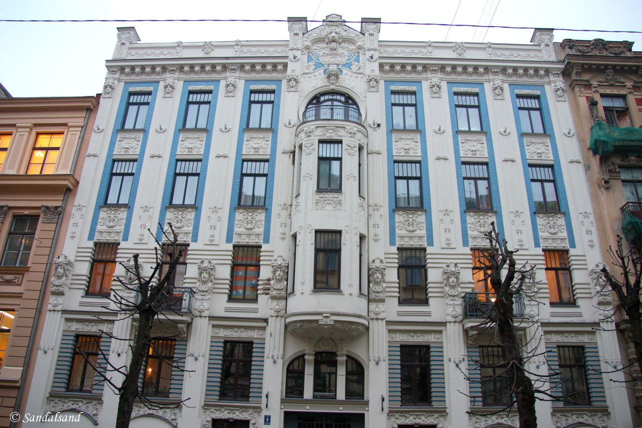 Latvia - Riga - Albert Street