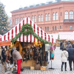 Latvia - Riga - Christmas market on Cathedral Square