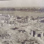 Poland - Warsaw (Warszawa) - Royal Castle - Exhibition showing what the city looked like after the war