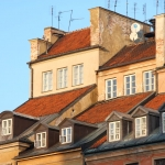 Poland - Warsaw (Warszawa) - Rooftops in the Old Town