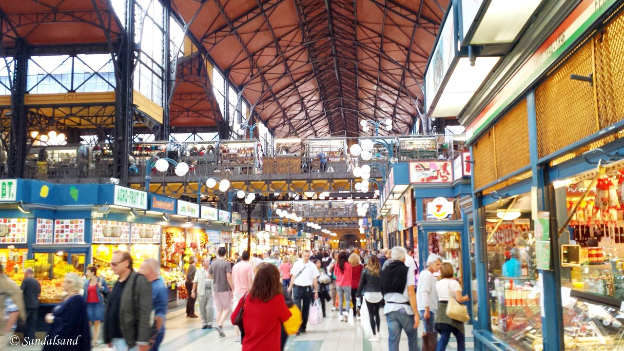 Hungary - Budapest - Great Market Hall