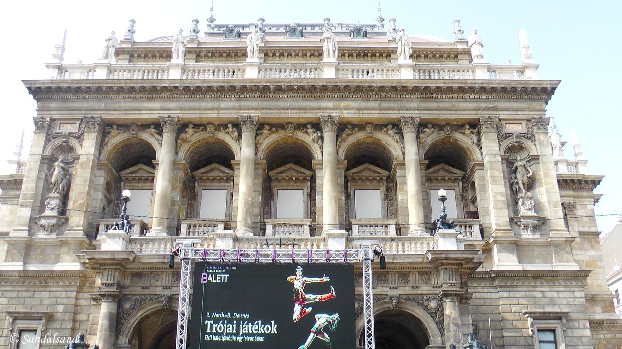 Hungary - Budapest - Hungarian State Opera House (Magyar Állami Operaház)