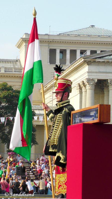 Hungary - Budapest - Heroes' square (Hősök tere)