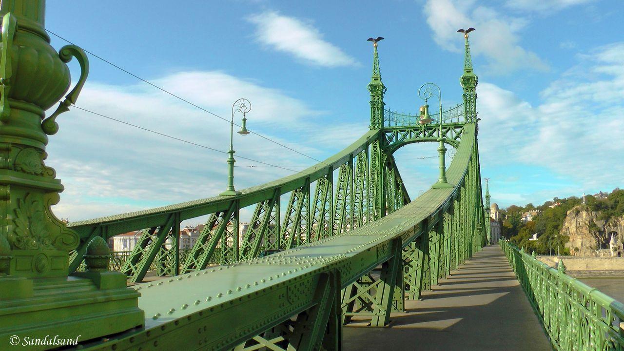 Hungary - Budapest - Liberty Bridge (Szabadság híd)