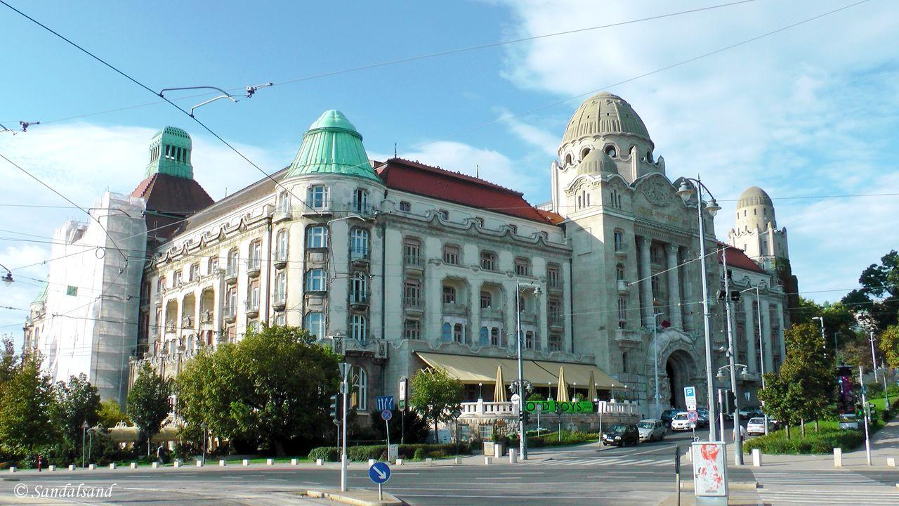 Hungary - Budapest - Gellért Hotel
