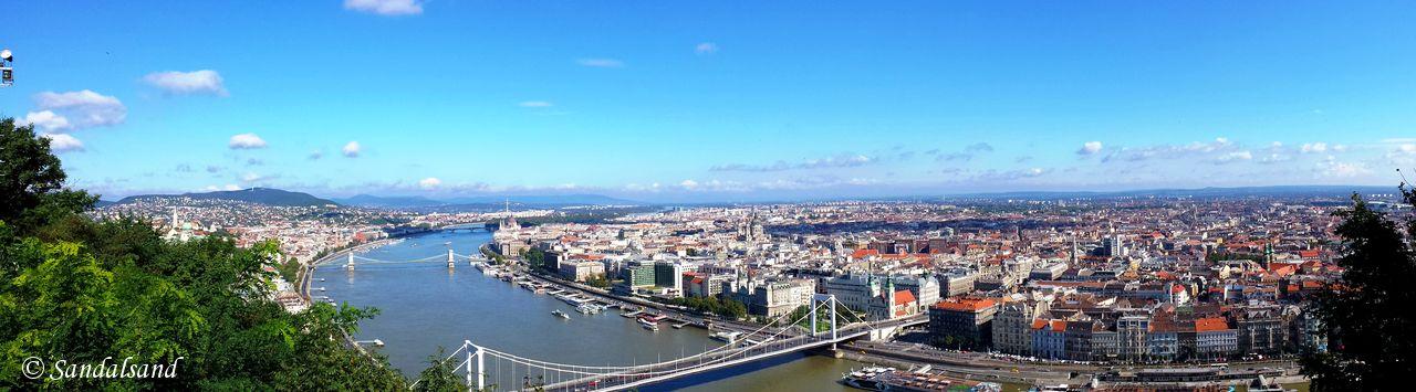 Hungary - Budapest - Gellert Hill (Gellérthegy)