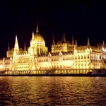 Hungary - Budapest - The Danube and Parliament