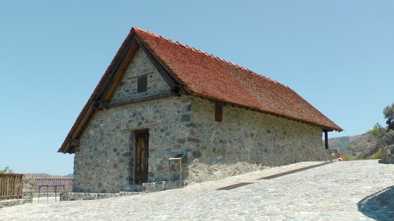 Cyprus - Troodos - Panagia tou Moutoulla - WHS