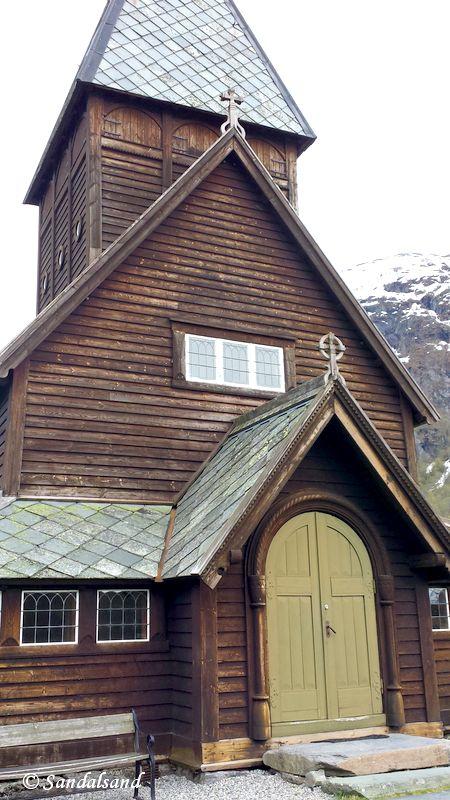 Norway - Hordaland - Røldal stave church