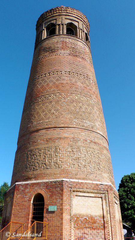 Kyrgyzstan - Uzgen minaret
