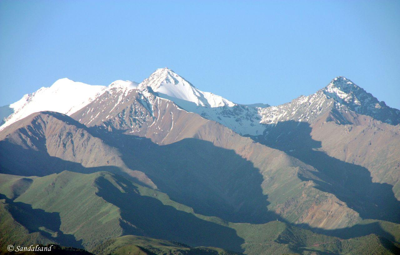 Kyrgyzstan - Bishkek - The Kyrgyz Ala-Too mountain range