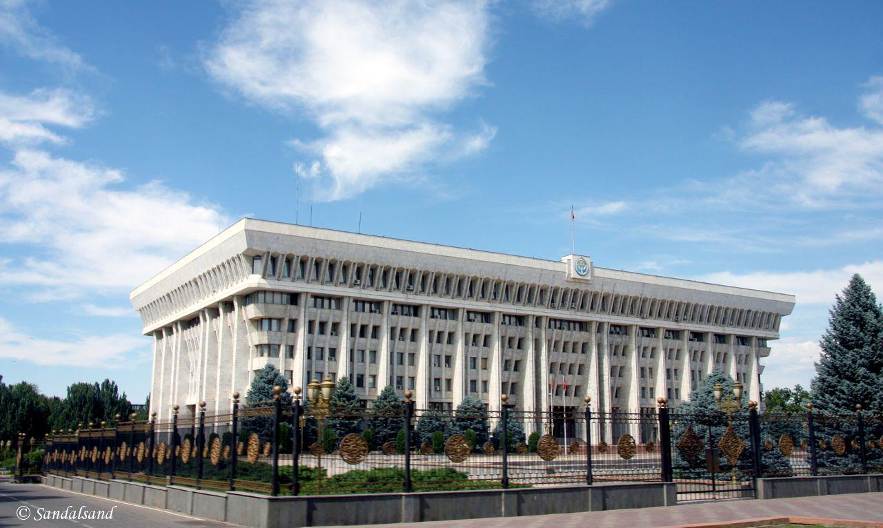 Kyrgyzstan - Bishkek - The White House Presidential Palace