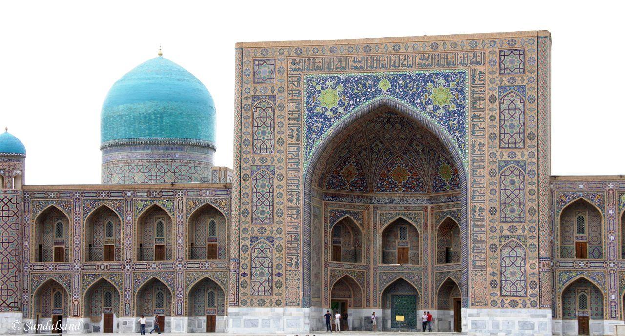 Uzbekistan - Samarkand - Registan - Tilya-Kori Madrasah