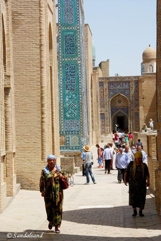 Uzbekistan - Samarkand - Shah-i-Zinda Necropolis