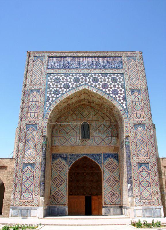 Uzbekistan - Shakhrisabz - Kok Gumbaz Mosque