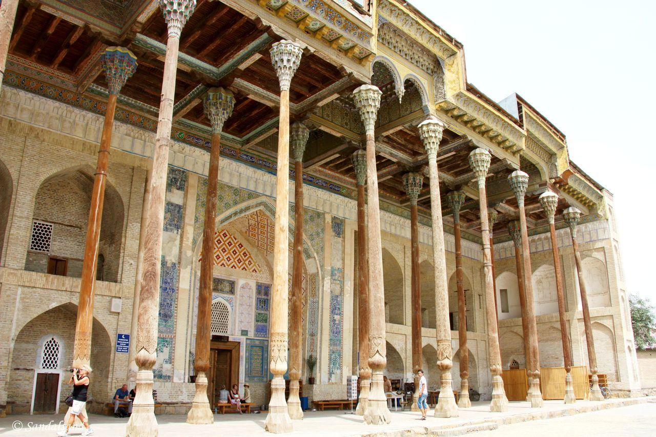 Uzbekistan - Bukhara - Bolo-Hauz Mosque