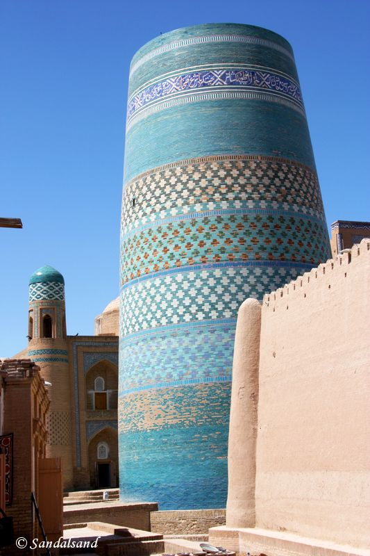 Uzbekistan - Khiva - Itchan Kala - Kalta Minor minaret