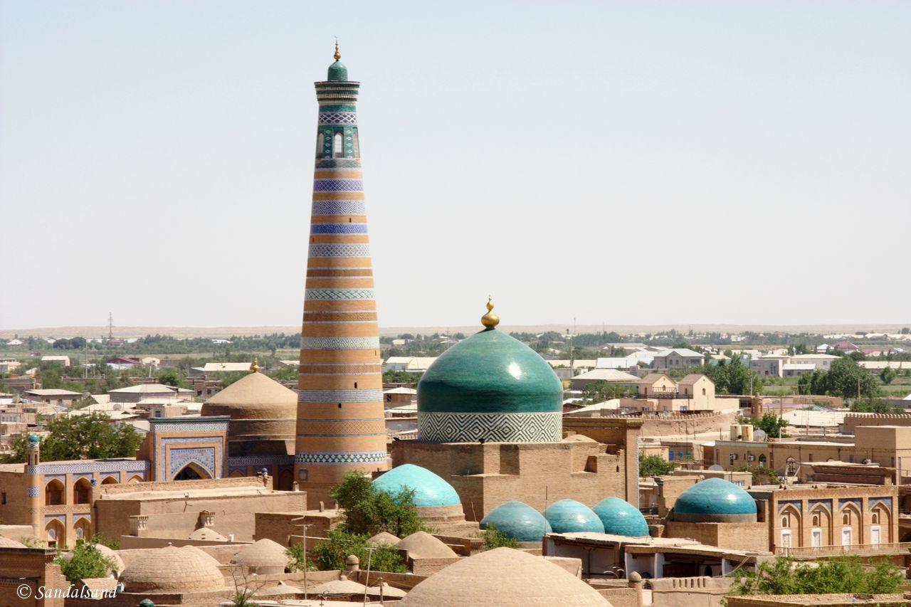 Uzbekistan - Khiva - Itchan Kala - Uzbekistan - Khiva - Itchan Kala - Minaret of Islam-Khodja