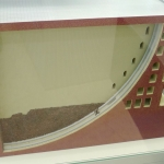 Uzbekistan - Samarkand - Model of the Ulugh Beg Observatory
