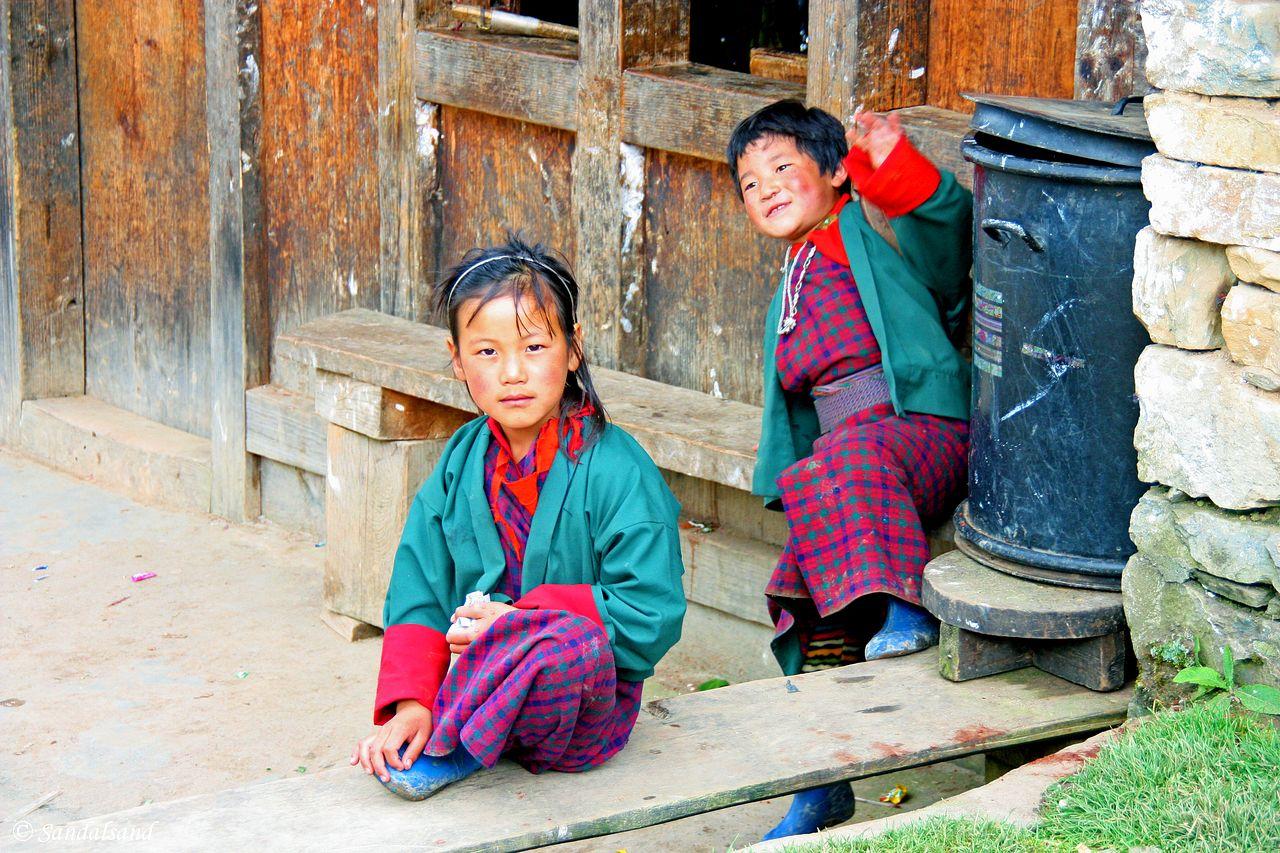 Bhutan - Phobjikha Valley - Gangtey Monastery