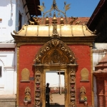 Nepal - Kathmandu Valley - Bhaktapur - Durbar Square - Royal Palace - Golden Gate