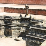 Nepal - Kathmandu Valley - Bhaktapur - Durbar Square - Royal Palace - Snake Pond