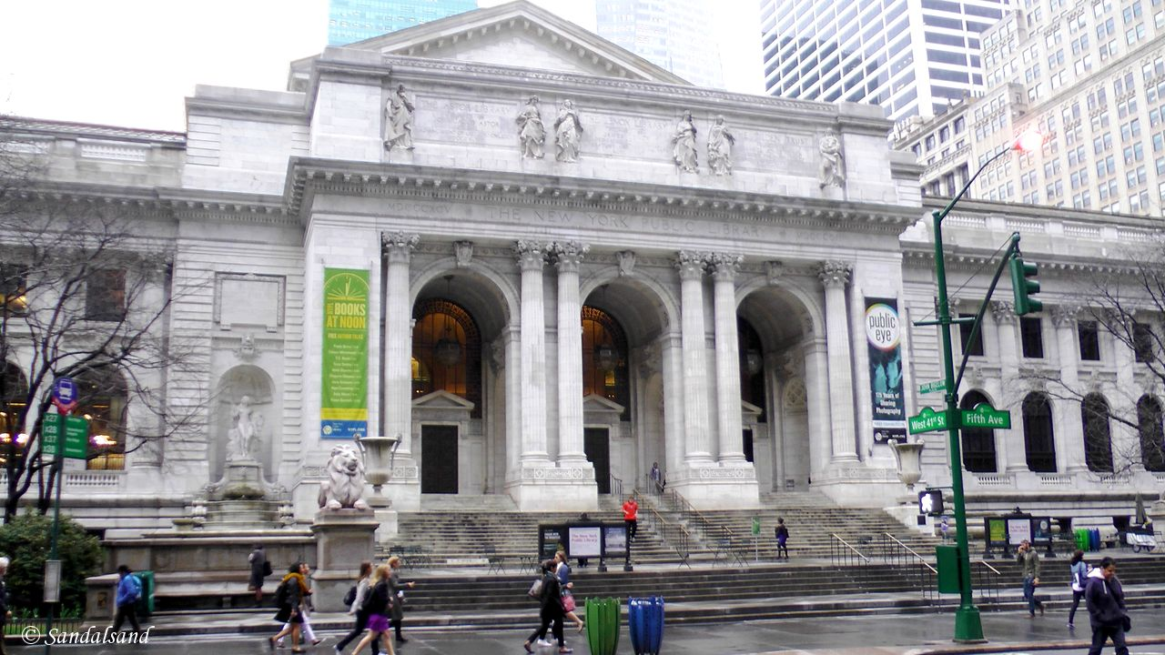 USA - New York - Public Library