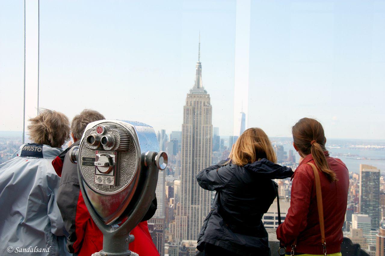 USA - New York - Rockefeller Center - GE Building - Top of the Rock