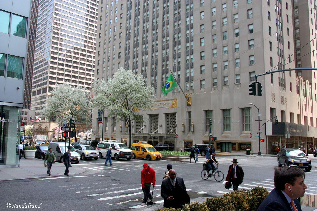 USA - New York - Waldorf Astoria