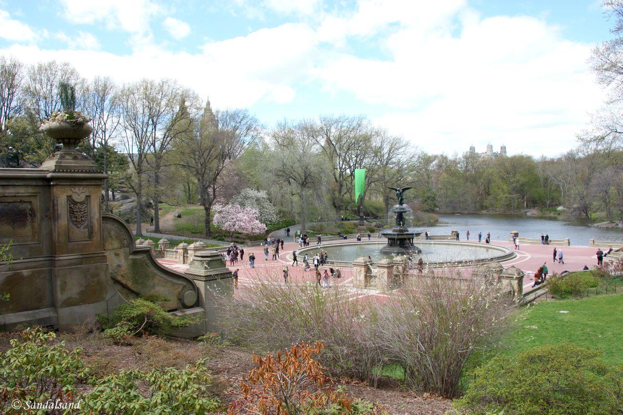 USA - New York - Central Park - Bethesda Terrace and Fountain