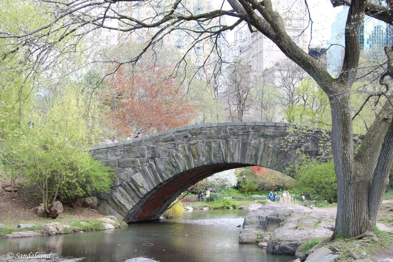 USA - New York - Central Park - Gapstow Bridge