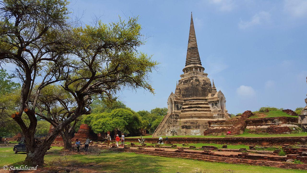 Thailand - Ayutthaya - Wat Phra Si Sanphet