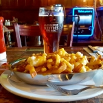 Canada - Montreal - McLean's Pub - A plate of Poutine