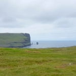 Denmark - Faroe Islands - Cliffs called Risin and Kellingin (the giant and the witch)