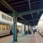 Poland - Malbork - Railway station
