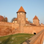 Poland - Malbork Castle - Outer wall