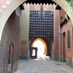 Poland - Malbork Castle - The gate to the Middle Castle