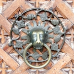 Poland - Malbork Castle - The Grandmaster's Palace - Doorknob