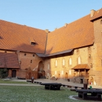 Poland - Malbork Castle - The Middle Castle Courtyard