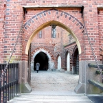 Poland - Malbork Castle - Bridge and Gate to the High Castle