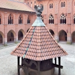 Poland - Malbork Castle - The High Castle Courtyard