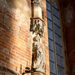 Poland - Malbork Castle - The High Castle - The Blessed Virgin Mary Church