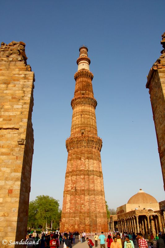 India - New Delhi - Qutub Minar