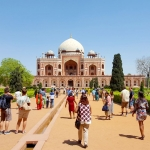 India - New Delhi - Humayun's Tomb